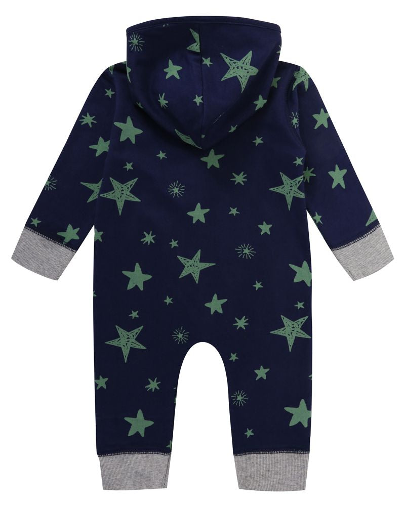 Load image into Gallery viewer, Lilly and Sid Star Print Outersuit - Small and Awesome