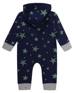 Lilly and Sid Star Print Outersuit - Small and Awesome