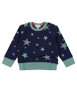 Lilly and Sid Star Print Sweatshirt - Small and Awesome