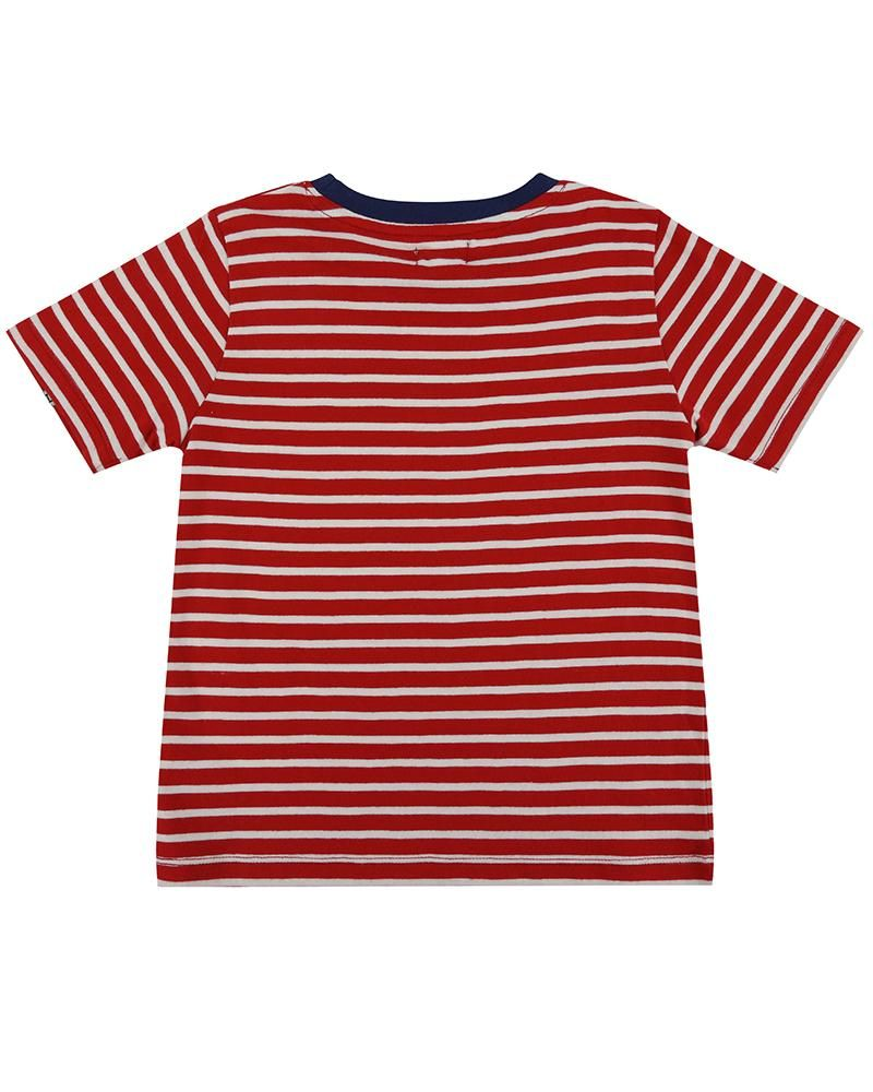 Load image into Gallery viewer, Lilly and Sid Stripe Print T - Nautical - Small and Awesome