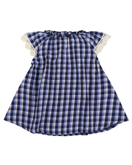 Lilly and Sid Woven Check Dress - Small and Awesome