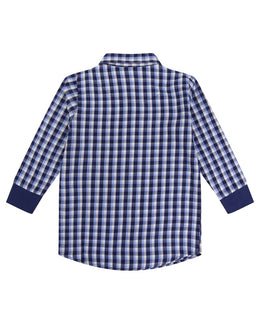 Lilly and Sid Woven Check Shirt - Small and Awesome