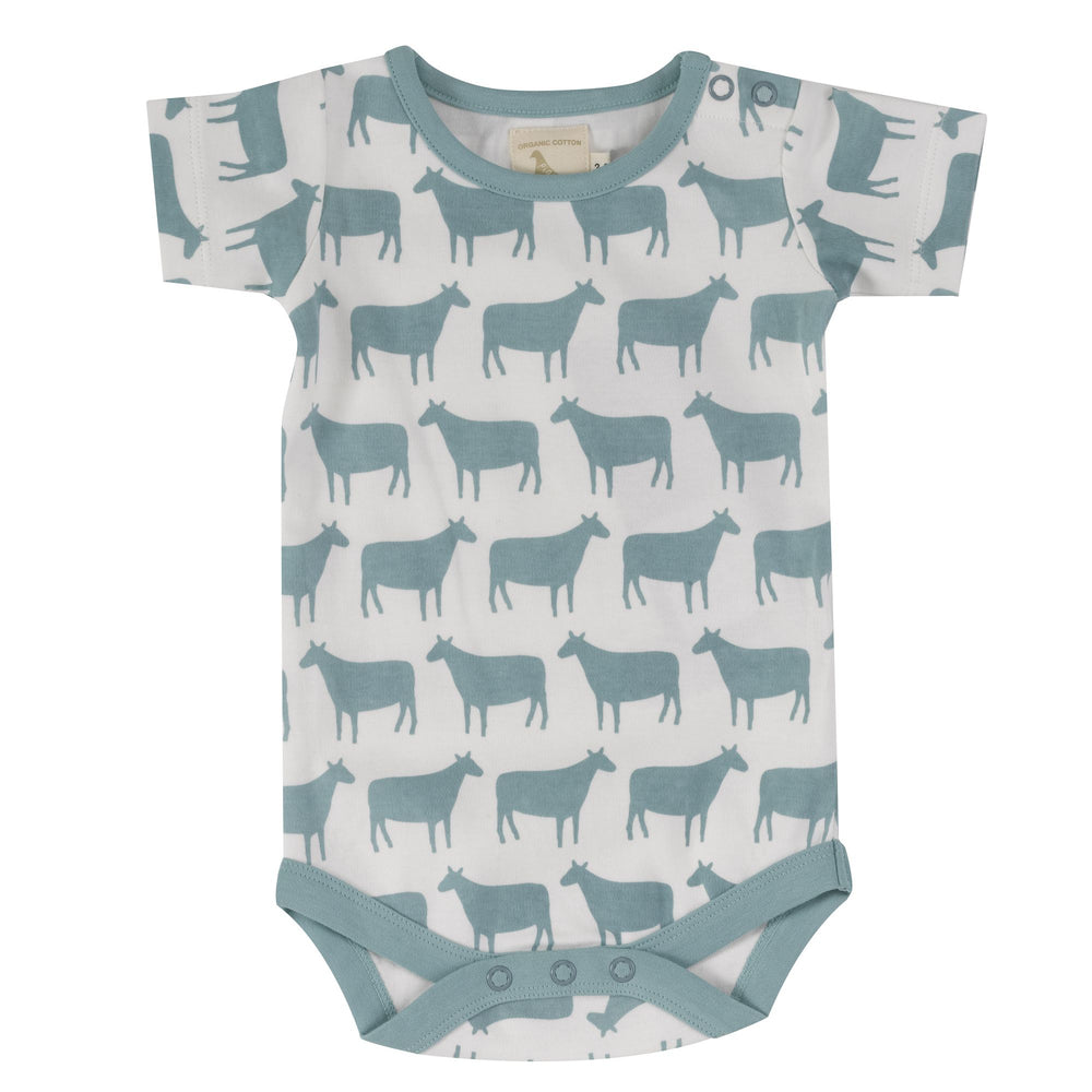 Pigeon Organics Summer Body Sheep- Turquoise - Small and Awesome