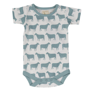 Load image into Gallery viewer, Pigeon Organics Summer Body Sheep- Turquoise - Small and Awesome