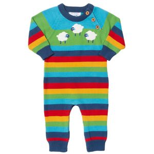 Load image into Gallery viewer, Kite Sheepy Days Knit Romper