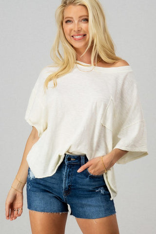 Ashlie Oversized Tee