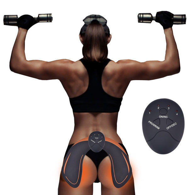Electric Vibration Muscle Stimulator Hip Trainer