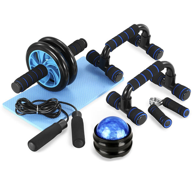 5-In-1 AB Wheel Roller Kit With Push-Up Bar