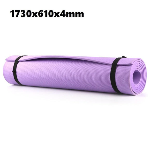 TPE Fitness Yoga Mat Tasteless Anti-slip