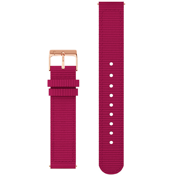 Fabric Band in Scarlet