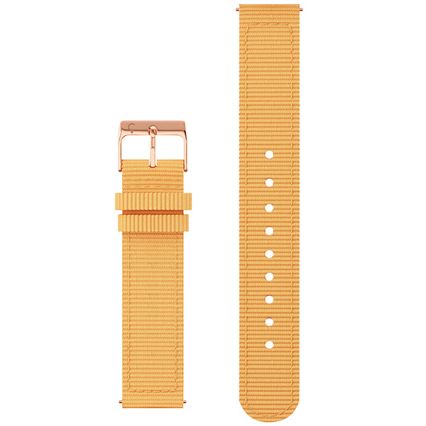 XL Fabric Band in Saffron