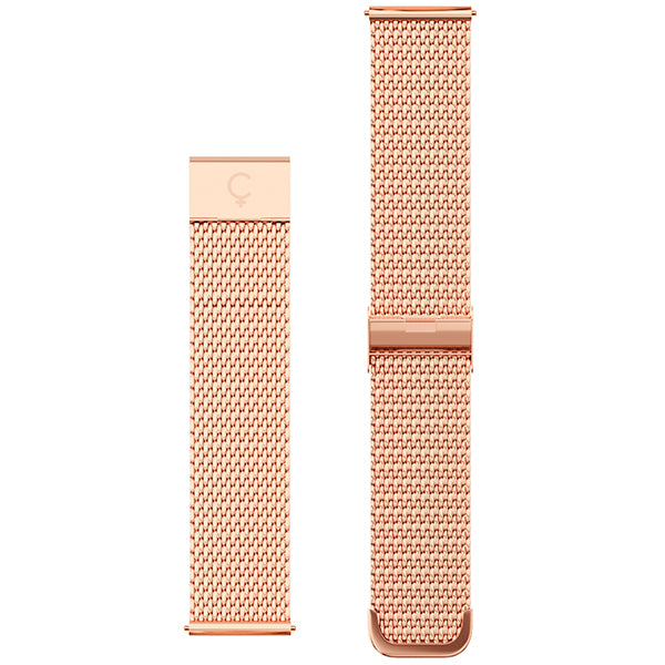 XL Mesh Band in Rose Gold