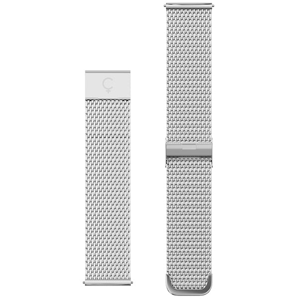 Mesh Band in Silver