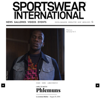 Sportswear International - LABEL TO WATCH Phlemuns