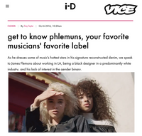 i-D - get to know phlemuns, your favorite musicians' favorite label