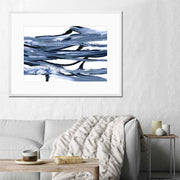 MARBLE WAVES 2 - Canvas or Framed Print