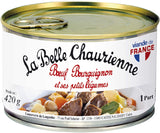 La Belle Chaurienne, beef Bourguignon with vegetables 420 g - Le Vacherin Deli
