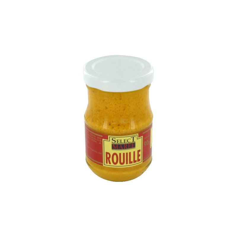 Garlic and saffron mustard for fish soup glass jar, Rouille, Select Marée, 90g