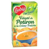 Pursoup velouté de potiron brick -Pursoup pumpkin and cream carton - Liébig, 2 x30cl