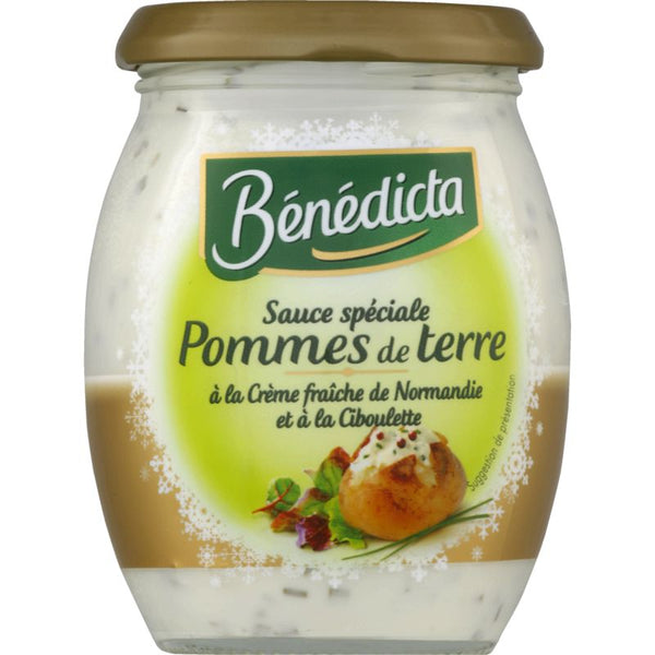 Bénédicta - Chive sauce for potatoes - 240g - Le Vacherin Deli