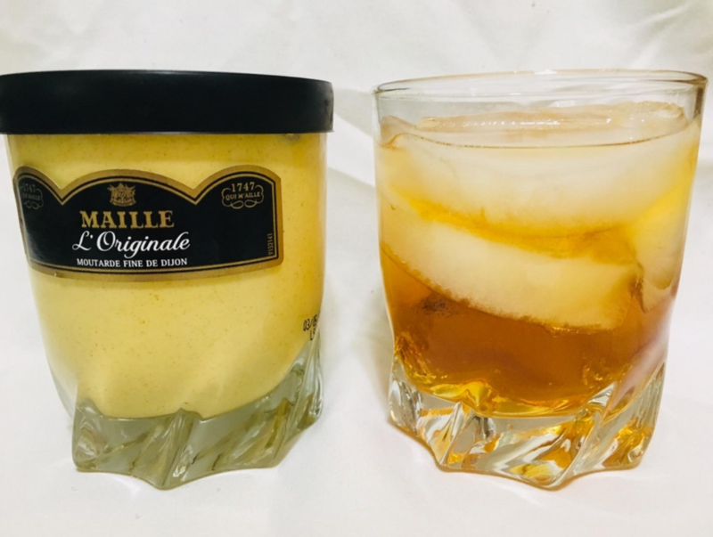 Maille - Moutarde verre whisky  - 280g ( Whisky glass) - Le Vacherin Deli