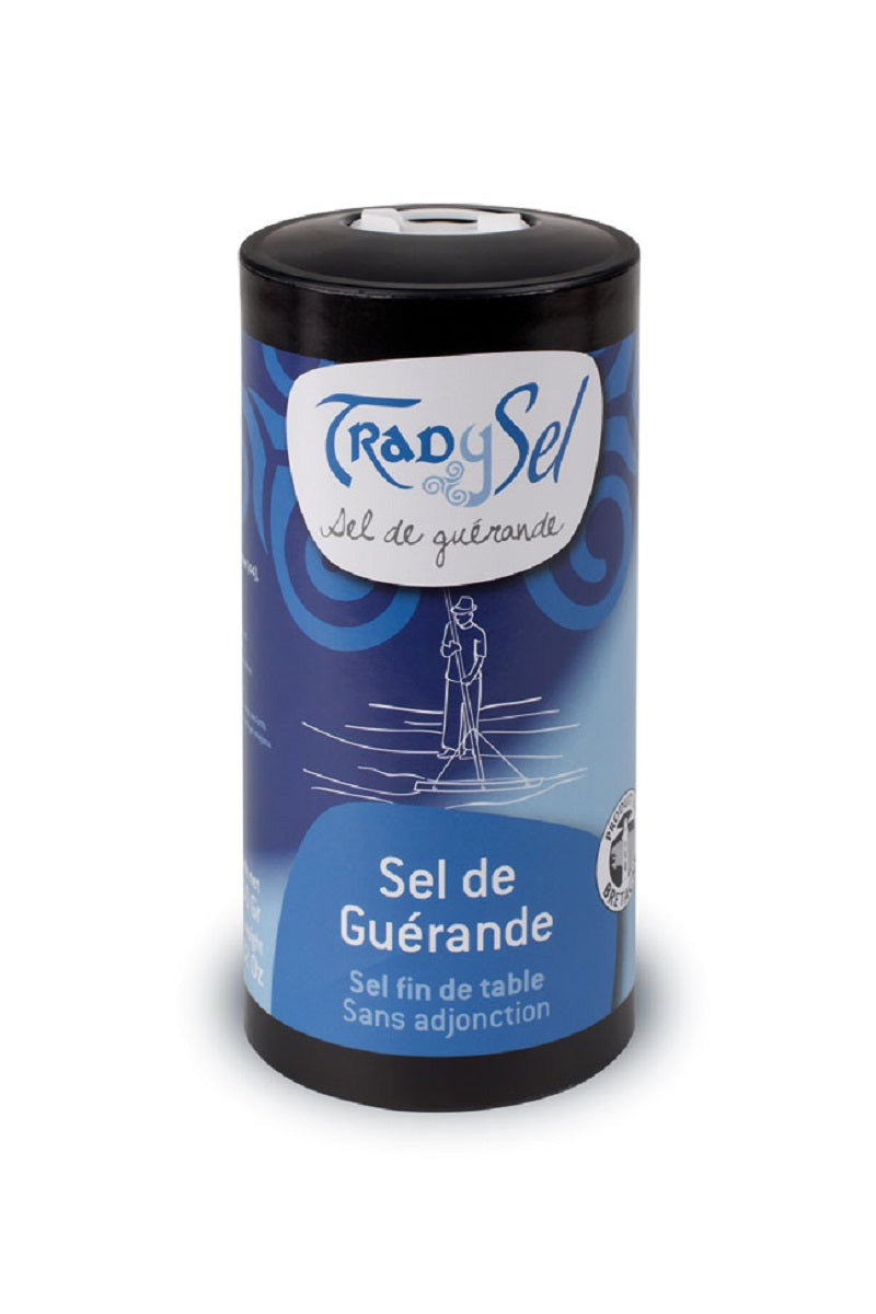 Sel de Guérande fin gris - Fine grey sea salt from Guérande (box) - Trad Y Sel, 250g
