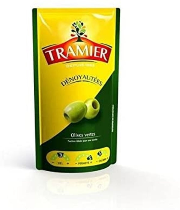 Tramier- pitted green olives ,100 g - Le Vacherin Deli