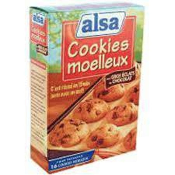 Alsa - cookies with chocolate chips preparation kit, 300 gr - Le Vacherin Deli