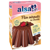 Alsa - chocolate flan preparation kit, 232g 3pcs - Le Vacherin Deli