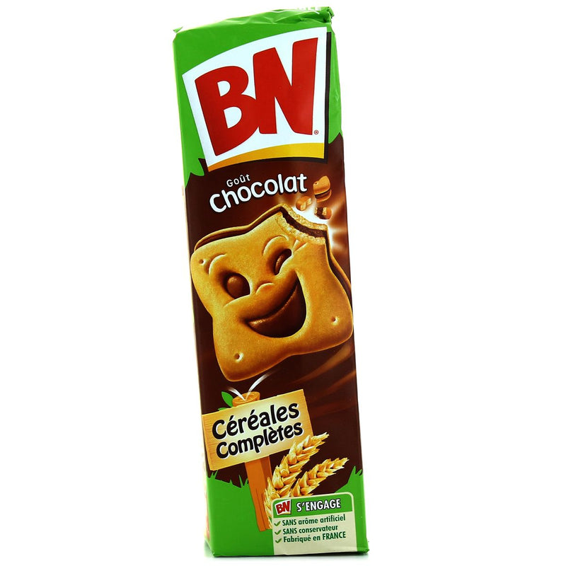 BN fourré au chocolat - BN Biscuit with chocolate filling - BN, 295g
