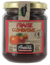 Fraise Clementine Confiture, Charles Antona, Corsican strawberry & clementine, 250g
