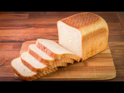 Pain de mie nature 100% mie sans croute 20 tranches - Crustless white loaf x 20 slices - Harry's, 500g