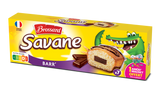 Savane Pocket barre de chocolat x 7 - Mini Savane cakes filled with choc bar x 7 - Brossard, 189g