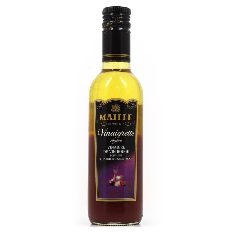 Maille, Vinaigrette Èchalote Pointe d'Oignon Rouge (Red wine vinaigrette with shallots) - 36cl - Le Vacherin Deli