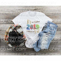 2019 #1 new year Sublimation transfers Heat Transfer