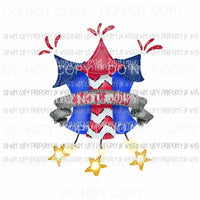 4th of july Sublimation transfers usa 4th of july america Heat Transfer