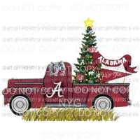 Alabama Truck - christmas Sublimation transfers Heat Transfer