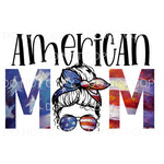 American mom # 5 Sublimation transfers - Heat Transfer