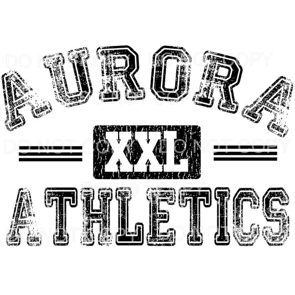 Aurora Houn Dawgs Don't Kick Our Dog Mascot Sublimation
