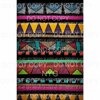 Aztec Design Sheet #3 Sublimation transfers 13 x 9 inches Heat Transfer