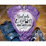Bad Girls Have more fun Disney BLACK SCREEN PRINT PRE ORDER