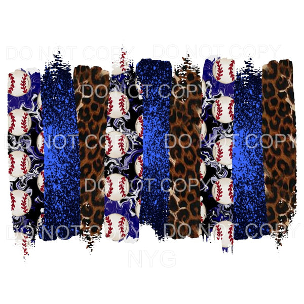 Baseball background blue # 2 Sublimation transfers - Heat