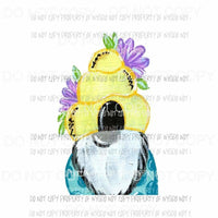 Beecomb Hat Gnome Sublimation transfers Heat Transfer