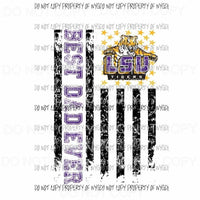 Best Dad ever - grandpa - pop pop LSU TIGERS 2 etc in drop down menu sublimation transfer Heat Transfer