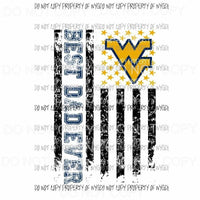 Best Dad ever - grandpa - pop pop West Virginia Mountaineers etc in drop down menu sublimation transfer Heat Transfer