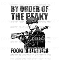 By order of the peaky blinders 6 Sublimation transfers Heat Transfer