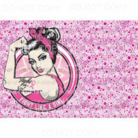 Cancer Combo Sheet #3 Sublimation transfers 13 x 9 inches Heat Transfer
