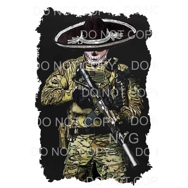CUSTOM soldier # 1 Sublimation transfers - Heat Transfer