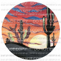 Desert Circle Sublimation transfers Heat Transfer