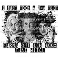 dna test 100% that witch Sublimation transfers Heat Transfer